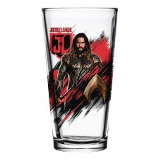 JUSTICE LEAGUE MOVIE AQUAMAN PINT GLASS