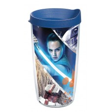STAR WARS LAST JEDI ACTION SHOT 16OZ TUMBLER W/ BLUE LID