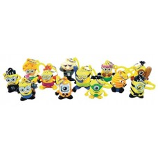 DREAMWORKS DESPICABLE ME 3 FIGURE HANGER 24PC BMB DS