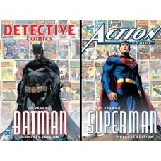 DETECTIVE & ACTION COMICS 80 YEARS DELUXE HC BUNDLE