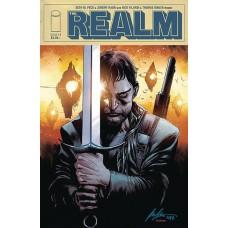 REALM #11 CVR B ALBUQUERQUE & FILARDI (MR)