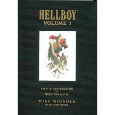 HELLBOY LIBRARY HC VOL 01 SEED DESTRUCTION DEVIL