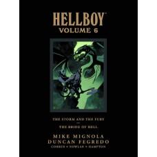 HELLBOY LIBRARY HC VOL 06 STORM FURY BRIDE HELL