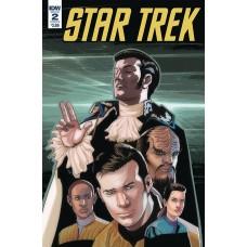 STAR TREK Q CONFLICT #2 (OF 6) CVR A MESSINA