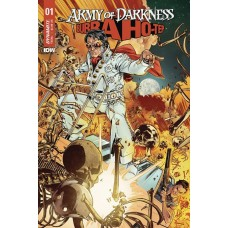ARMY OF DARKNESS BUBBA HOTEP #1 CVR A GOMEZ
