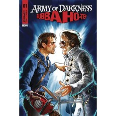ARMY OF DARKNESS BUBBA HOTEP #1 CVR D GALINDO