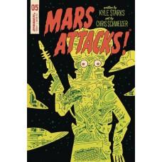 MARS ATTACKS #5 CVR E SCHWEIZER SUB VARIANT