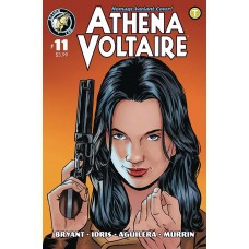ATHENA VOLTAIRE 2018 ONGOING #11 CVR B BRYANT HOMAGE