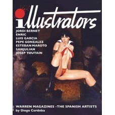 ILLUSTRATORS SPECIAL #1 THE SPANISH ARTS 2ND PRINT