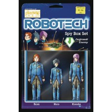 ROBOTECH #17 CVR B ACTION FIGURE VARIANT