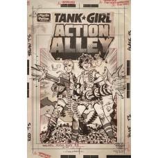 TANK GIRL ACTION ALLEY #3 CVR C ARTIST ED