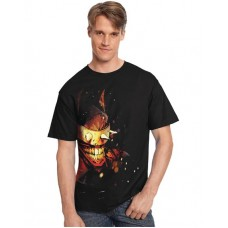 DC HEROES LAUGHING BATMAN T/S MED
