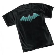 DC HEROES BATMAN NEON SYMBOL T/S MED