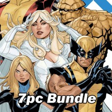 X-MEN FANTASTIC FOUR #1 #2 REG AND VARIANT BUNDLE