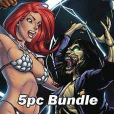 RED SONJA AGE OF CHAOS #2 CVR A B C D E BUNDLE