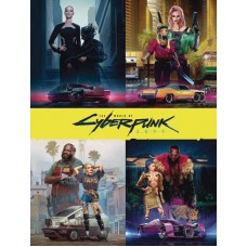 WORLD OF CYBERPUNK 2077 HC DLX ED