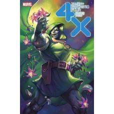 X-MEN FANTASTIC FOUR #2 (OF 4) HETRICK FLOWER VARIANT