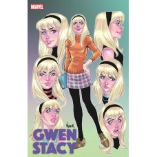 GWEN STACY #1 (OF 5) NAUCK FACES OF GWEN VARIANT