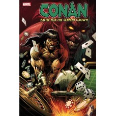 CONAN BATTLE FOR SERPENT CROWN #1 (OF 5) LUKE ROSS VARIANT