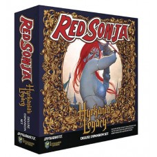 RED SONJA HYRKANIAS LEGACY BOARD GAME EXPANSION