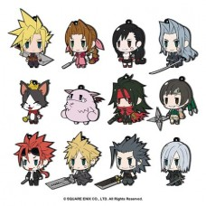 FINAL FANTASY VII TRADING RUBBER STRAP EXT ED 12PC BMB DS