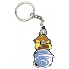 AVATAR THE LAST AIR BENDER AANG ON AIR SCOOTER KEYCHAIN