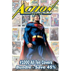 ACTION COMICS #1000 ALL 10 COVERS VARIANT BUNDLE SET