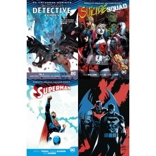 DC BATMAN SUICIDE SQUAD DETECTIVE SUPERMAN REBIRTH TP BUNDLE
