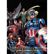 AVENGERS #687 - #690 SPROUCE END OF ERA VARIANT BUNDLE SET
