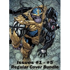VENOMIZED #1 - #5 REG COVER BUNDLE SET