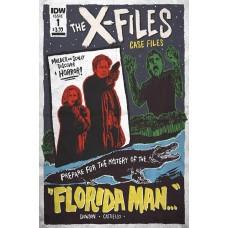 X-FILES CASE FILES FLORIDA MAN #1 CVR B LENDL