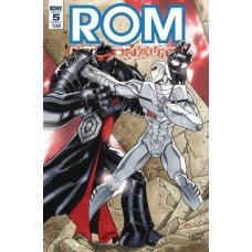 ROM & THE MICRONAUTS #5 (OF 5) CVR A VILLANELLI