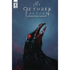 OCTOBER FACTION SUPERNATURAL DREAMS #2 CVR B WORM