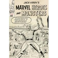JACK KIRBY MARVEL HEROES & MONSTERS ARTIST ED HC