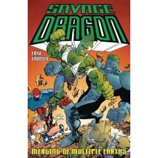 SAVAGE DRAGON MERGING OF MULTIPLE EARTHS TP (MR)