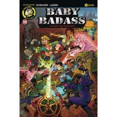 BABY BADASS #3 CVR A LARSEN (MR)