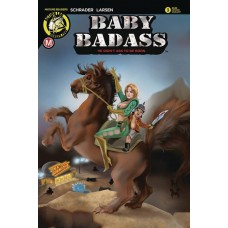BABY BADASS #3 CVR C DELARA (MR)
