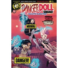 DANGER DOLL SQUAD GALACTIC GLADIATORS #1 CVR B CELOR RISQUE
