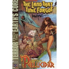 THE LAND THAT TIME FORGOT PELLUCIDAR WOLFER SIGNED SET