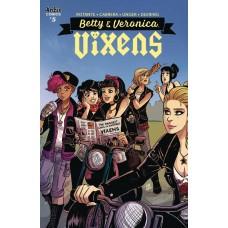 BETTY AND VERONICA VIXENS #5 CVR A EVA CABRERA