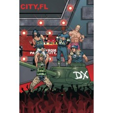WWE #16 SCHOONOVER RAW CONNECTING VARIANT