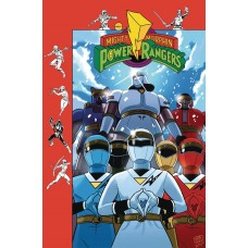 MIGHTY MORPHIN POWER RANGERS #26 SUBSCRIPTION GIBSON VARIANT