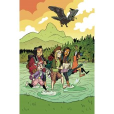 LUMBERJANES #49 SUBSCRIPTION DOZERDRAWS VARIANT