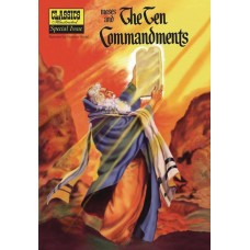 CLASSIC ILLUSTRATED SC MOSES & TEN COMMANDMENTS