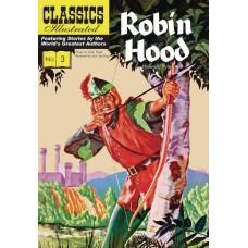 CLASSIC ILLUSTRATED HC ROBIN HOOD