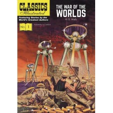 CLASSIC ILLUSTRATED HC WAR OF WORLDS