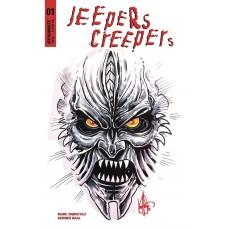 JEEPERS CREEPERS #1 KEN HAESER SKETCH ED