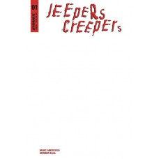 JEEPERS CREEPERS #1 BLANK AUTHENTIX ED