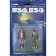 BSG VS BSG #4 (OF 6) CVR C MICHAEL ADAMS BOOMER ACTION FIG