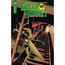 GREEN HORNET #2 CVR A MCKONE